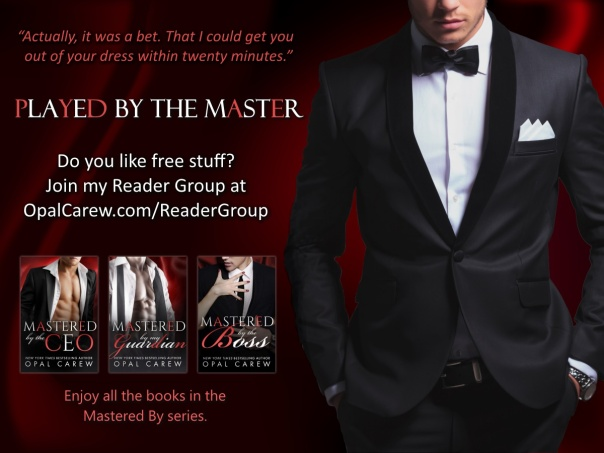 Reader Group - Played by the Master