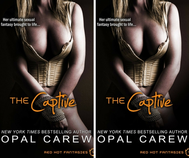 Cover Comparison - Before and After of The Captive Cover